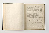 Terra Nova expedition notebook