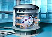 Fusion reactor,artwork