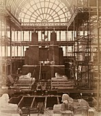Egyptian Court at Crystal Palace,1850s