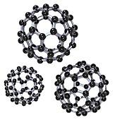 Buckminsterfullerene molecules