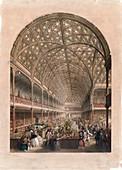 Crystal Palace bazaar,London,1850s