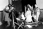 Silent film production,1922