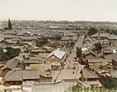 Tokyo housing,Japan,1890s