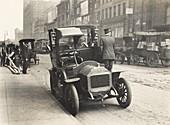 Automobile,New York City,1890s