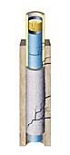 Hydraulic fracturing leaks,artwork