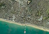 Brighton,aerial photograph