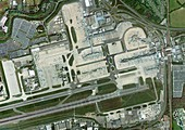 Gatwick airport,aerial photograph