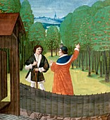 Orchard horticulture,15th century