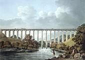 Pontcysyllte Aqueduct,Wales,artwork
