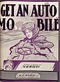 Automobile musical songbook,1906