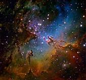 Eagle Nebula (NGC 6611),optical image
