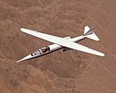AD-1 oblique wing aircraft