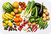 Assorted fruit and vegetables
