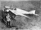 Vedrines and his military aircraft,1910s