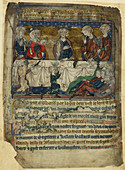 Edward the Confessor at table