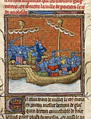Sea fight off La Rochelle