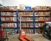 Printing company files