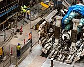Copenhagen Metro construction,2013