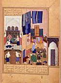Harun al-Rashid and the barber