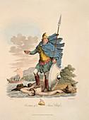 A Saxon chief