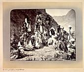 Khan of Lalpura and followers