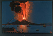 Eruption of Mt. Vesuvius,1777
