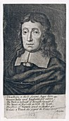 Portrait of John Milton