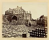 Ruins of an ammunition store