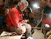 Excavations at Sima de los Huesos,Spain