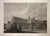 Wadham College,affiliated to Oxford Univ