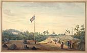 British military camp