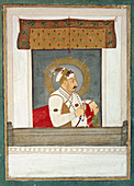 Muhammad Shah at a window