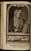Sir Hans Sloane. Bart