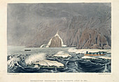 Expedition doubling Cape Barrow,July 25t