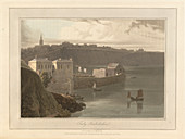 Tenby port and harbour in Pembrokeshire