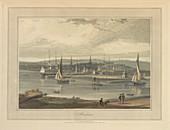 Aberdeen city and port