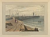 Sunderland Pier,Durham,Great Britain