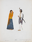 Man and woman from Jammu