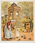 La Fontaine des innocents,in Paris