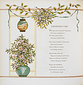 'Christmas-time' Verse and decoration