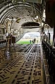 C-17 Globemaster cargo bay