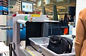 Airport baggage x-ray scanner