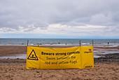 Tidal warning sign