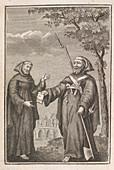 Fra Diavolo,Italian bandit and rmonk