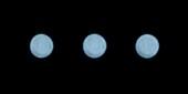Uranus,time-lapse montage