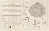Acoustics experiments,1844