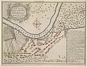 A plan of the Battle of Plassey