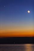 Moon with Jupiter,Mars and Mercury