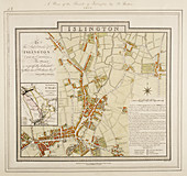 A plan of the parish of Islington