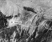 First Chinese nuclear test,Corona image